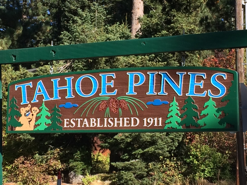 Explore area around Tahoe Pines